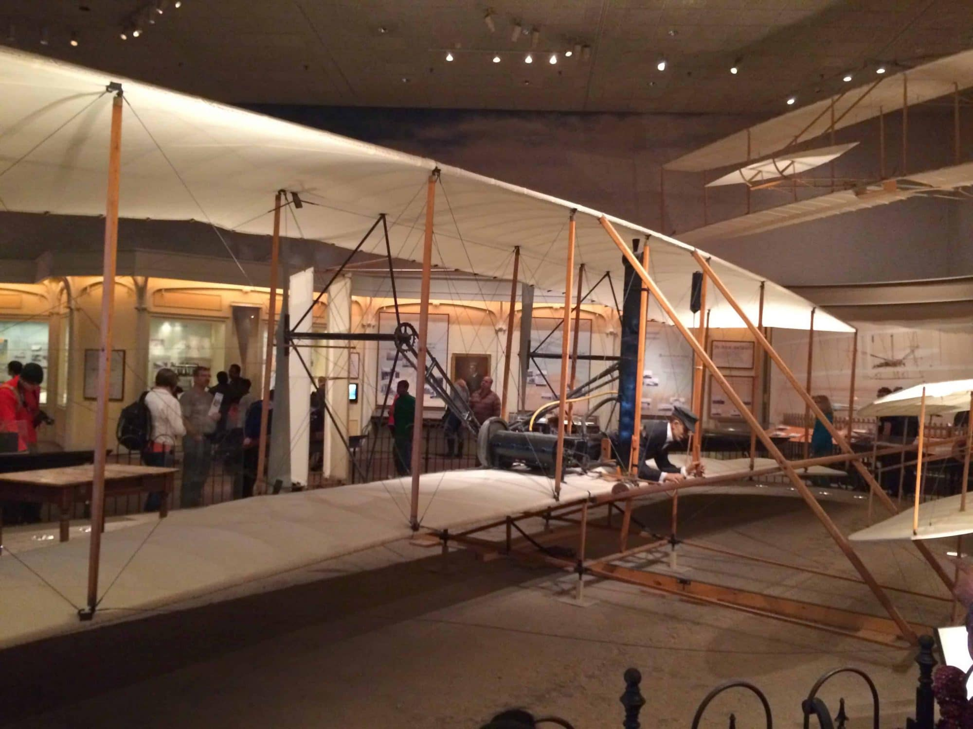 The original Wright Flyer