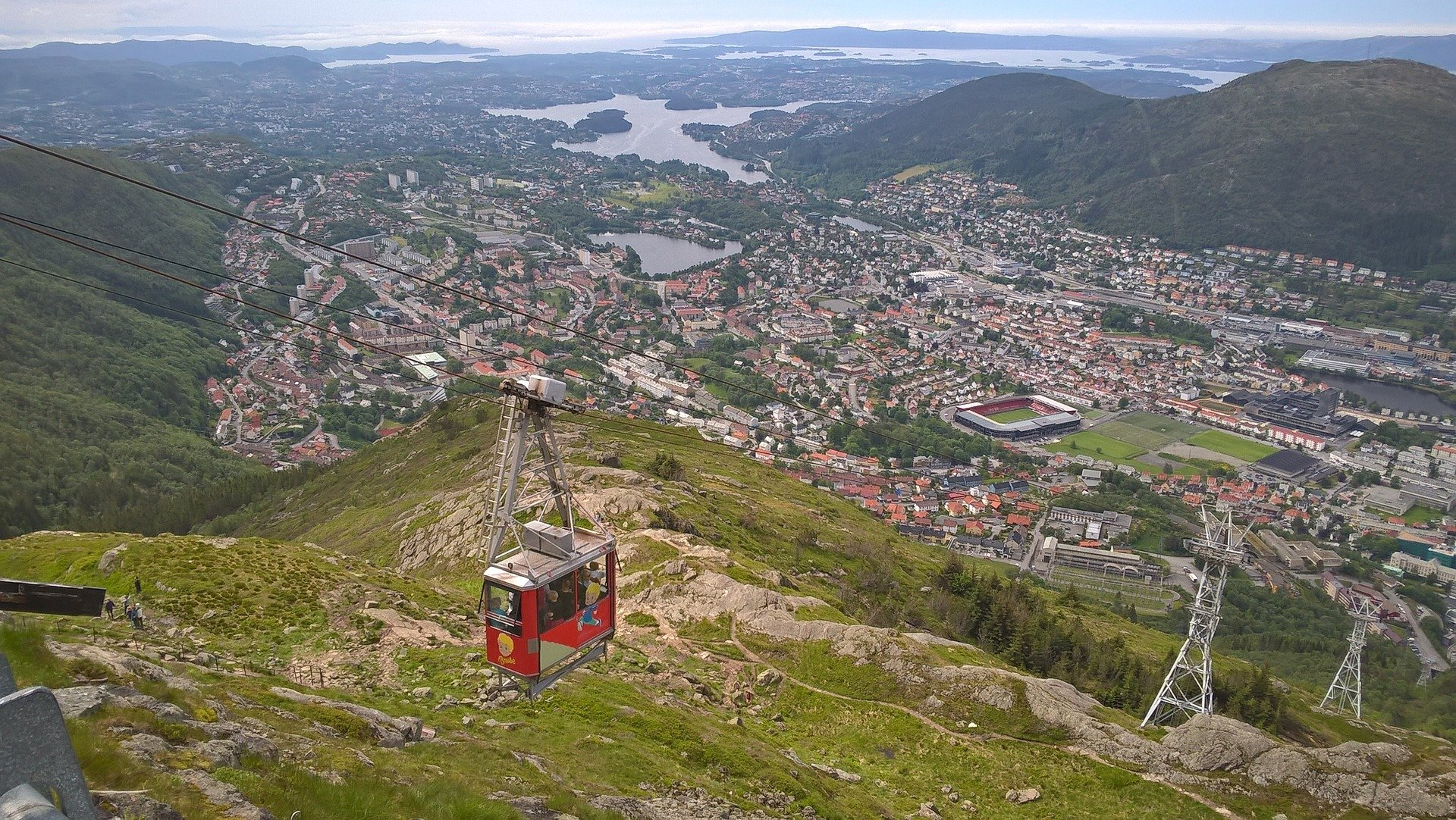 Bergen, Norway Mount Urklin365.