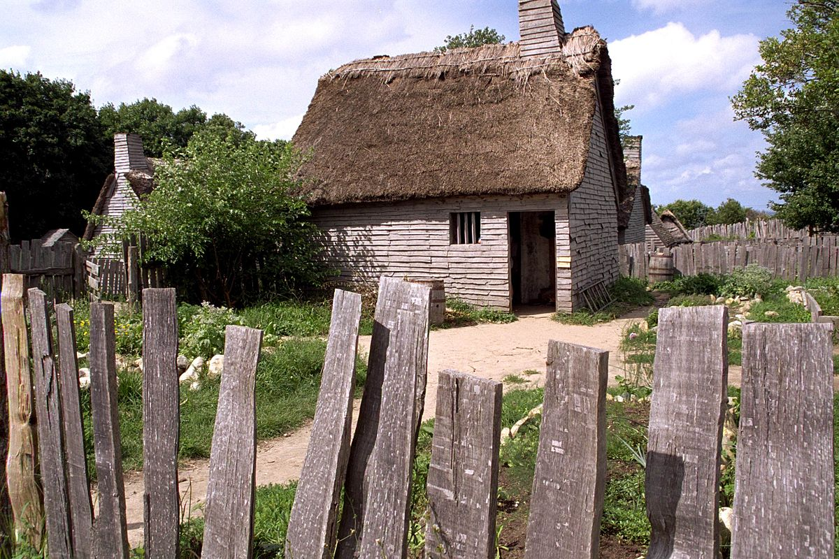 A House in Plimoth Patuxet
