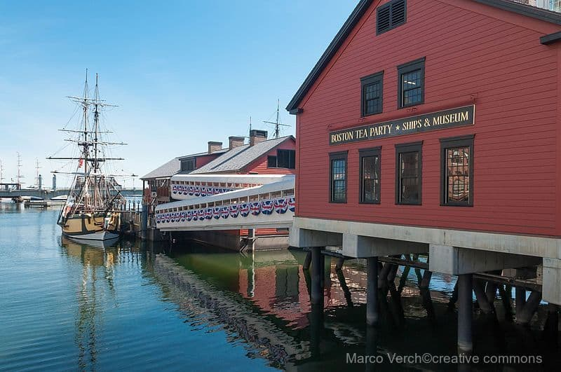 Boston Tea Party ship in Boston Harbor