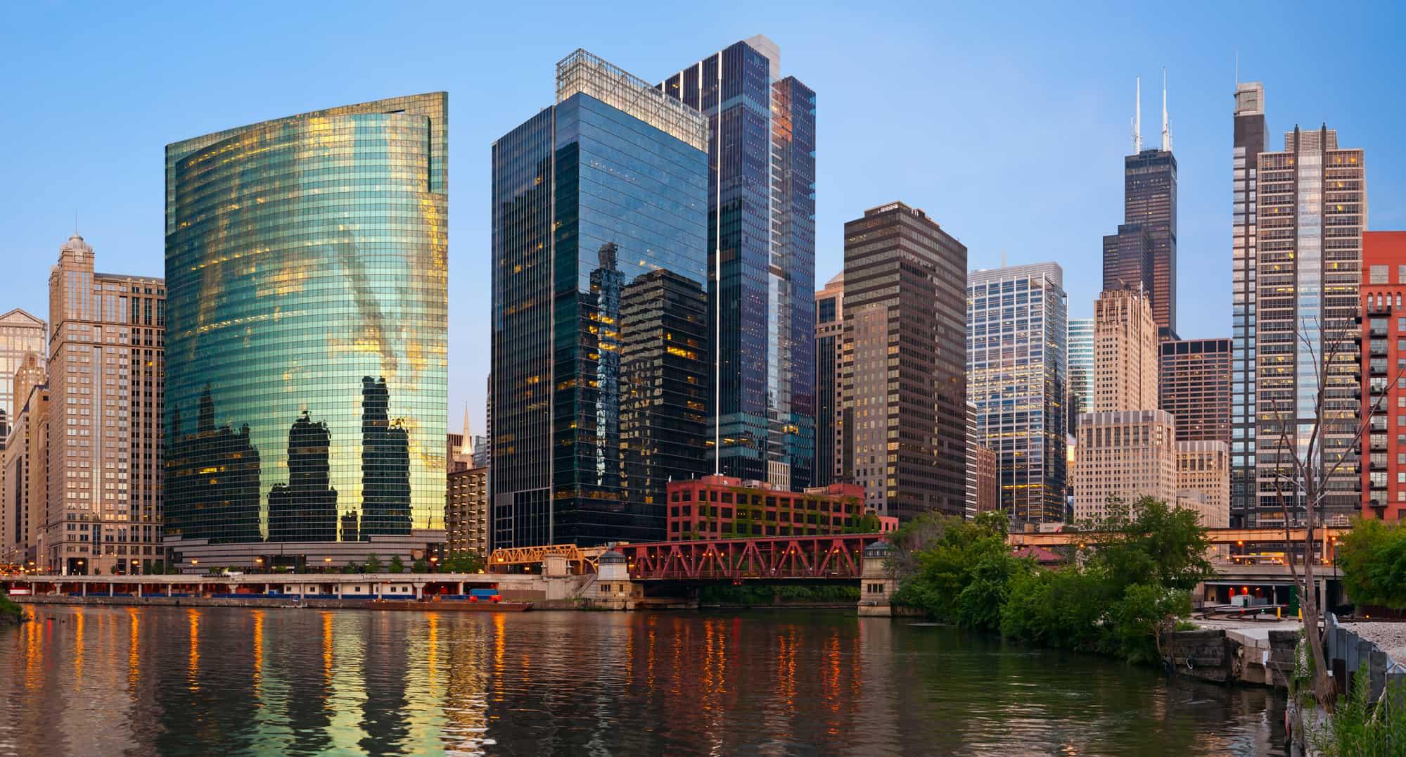 CHICAGO SKTSCRAPERS