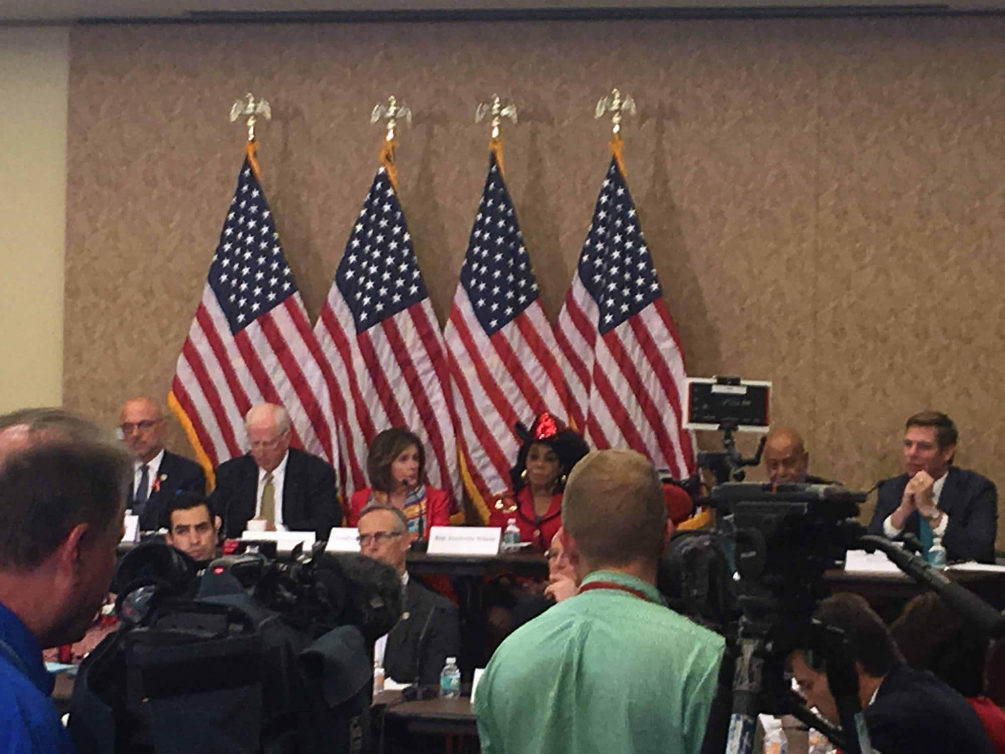 Congressional Hearing at the US Capitol