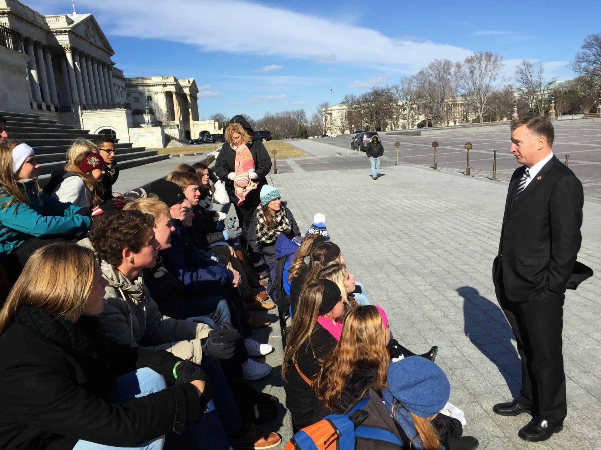 Meet your Congressperson or Senator on your next civics class trip to washington dc
