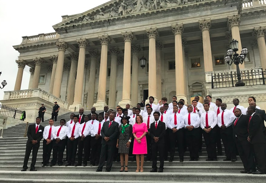 Group at the Capitol Building in Washington, D.C.