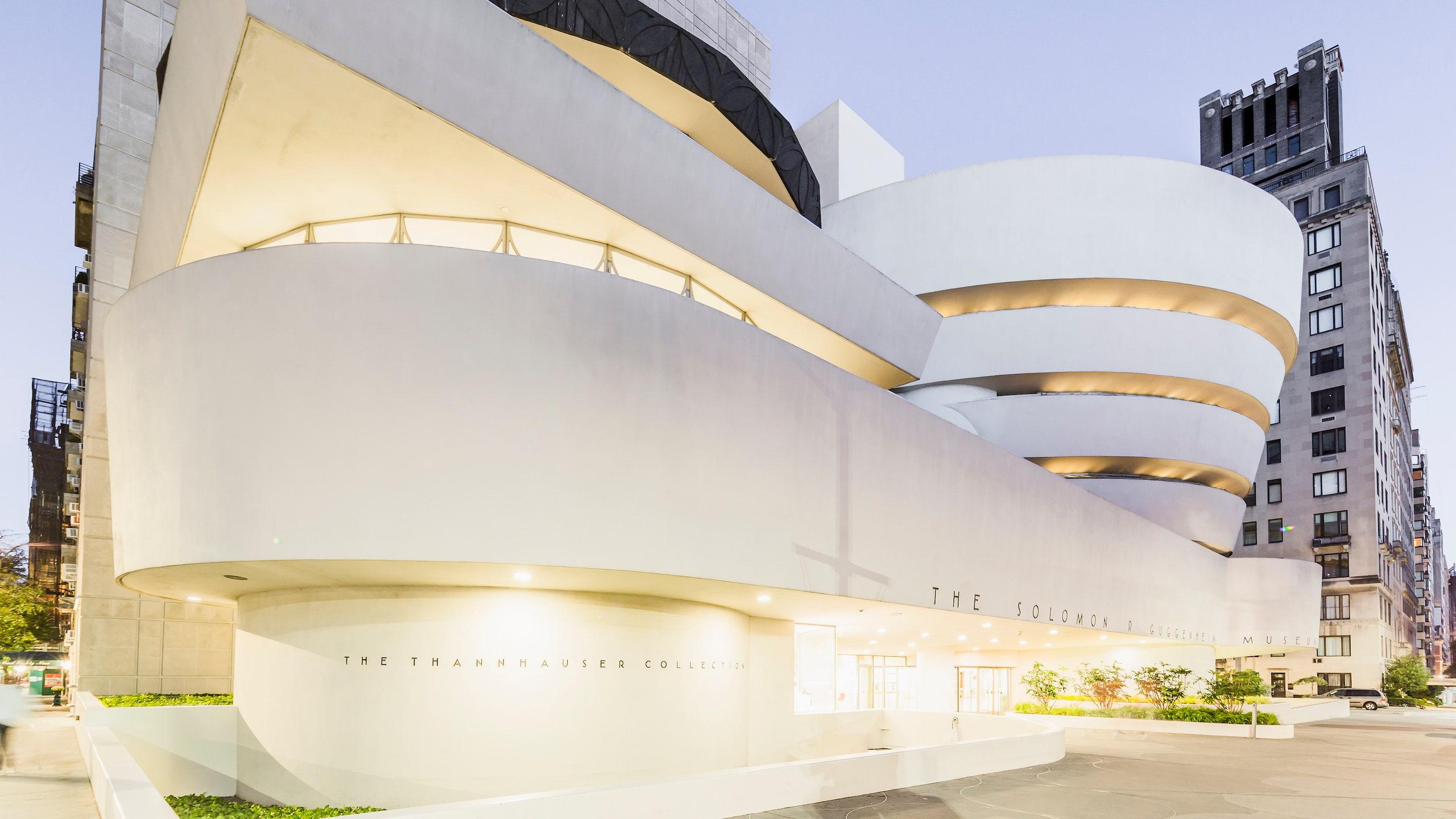 The Guggenheim Museum in New York