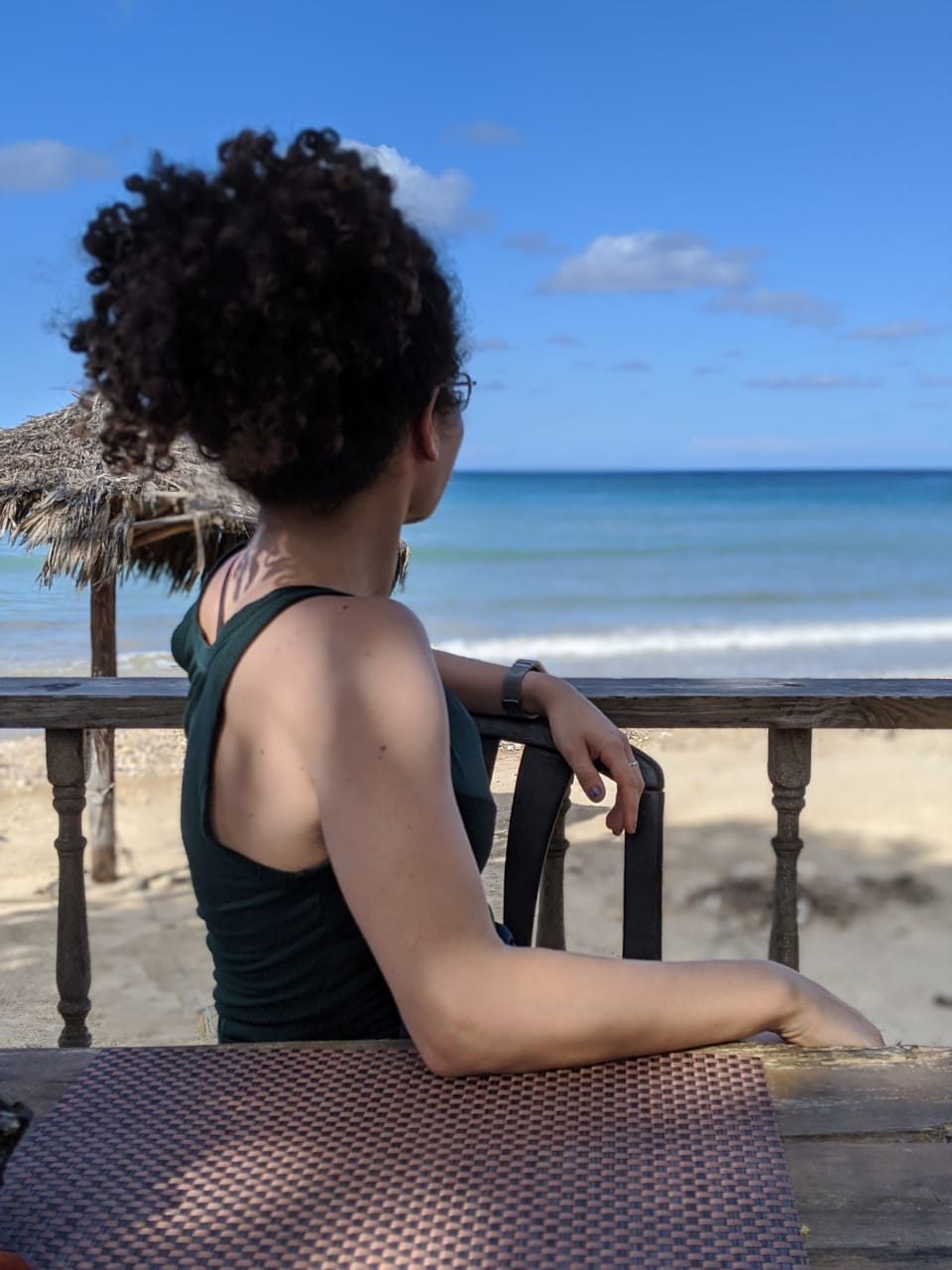 GO Leader Sarah in Jamaica March 2018, with a student group.