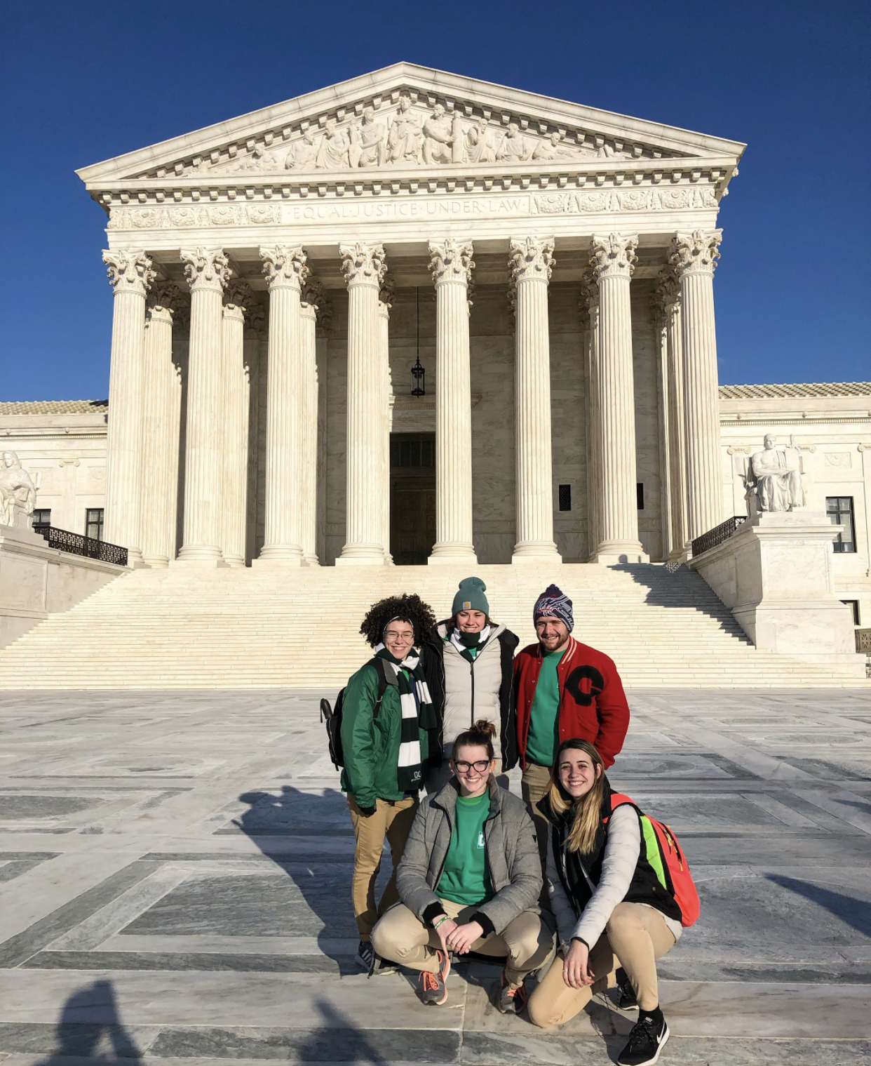 GO Leaders in front of the Supreme Court