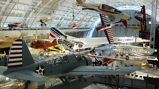 Inside National Air and Space Museum, Washington D.C.