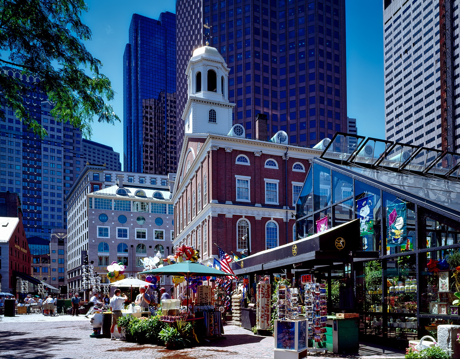 Faneuil Hall during the day.