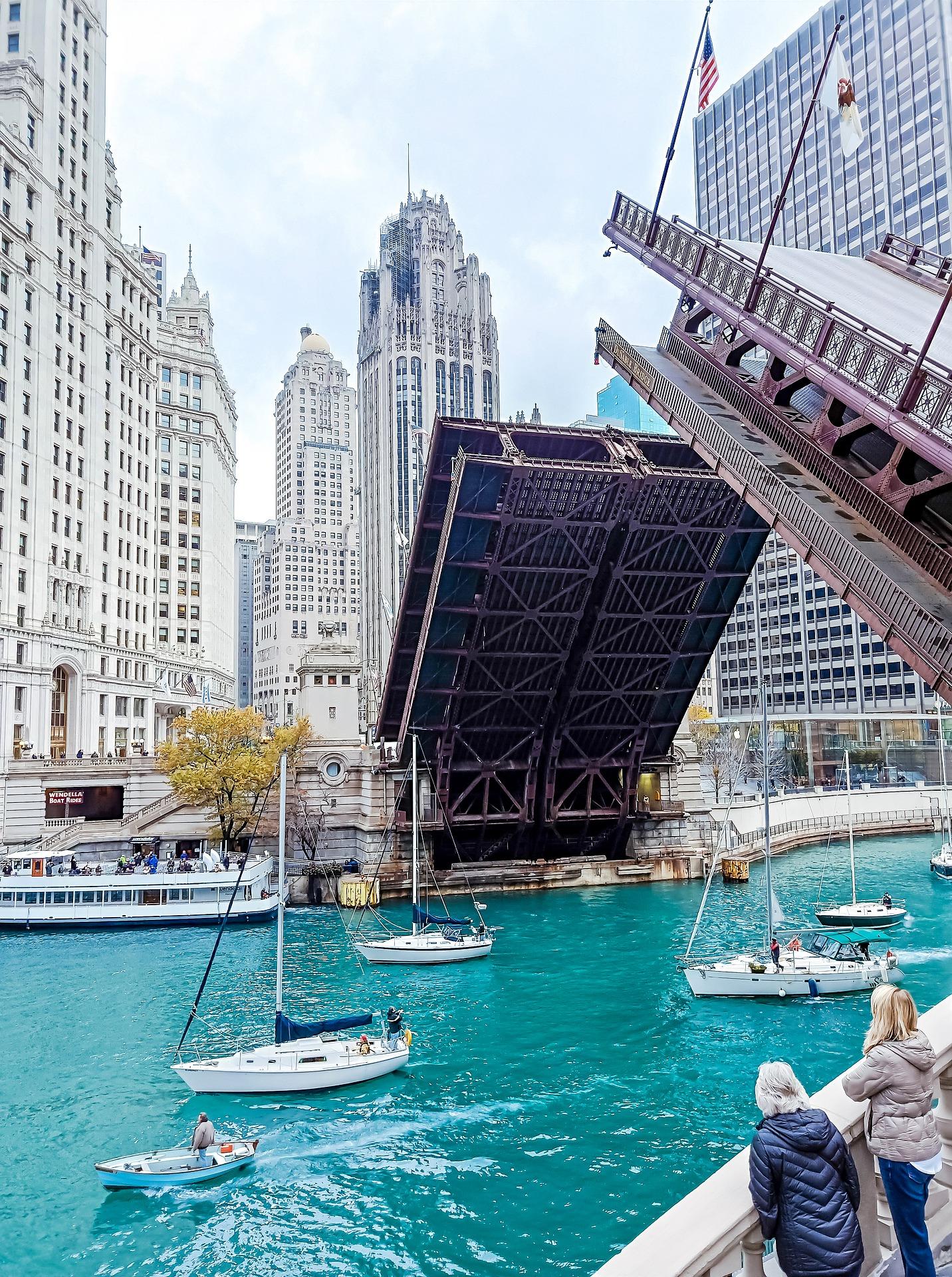 Bridge In Chicago