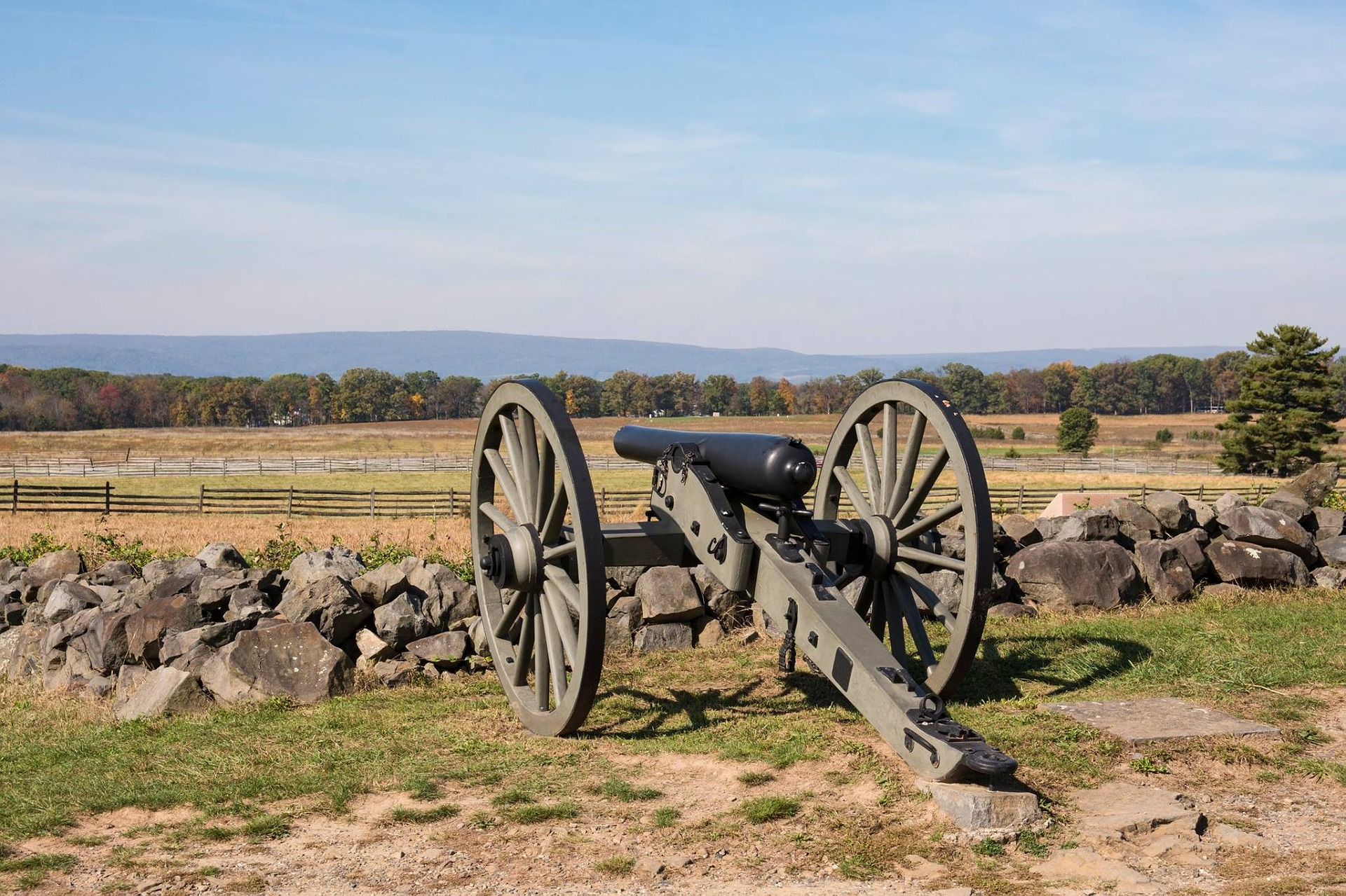 Canon at Gettysburg
