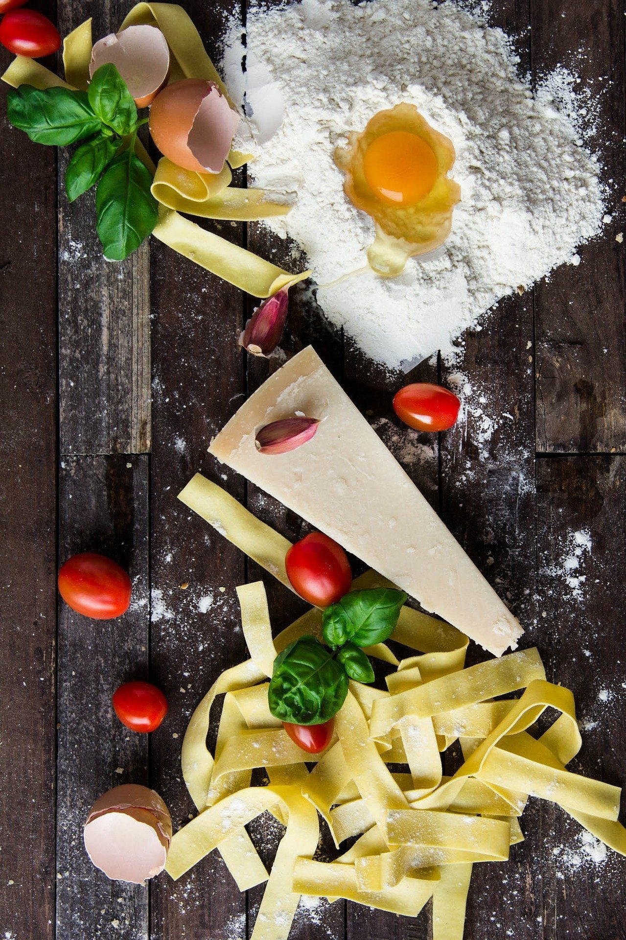 Pasta with GO Educational Tours