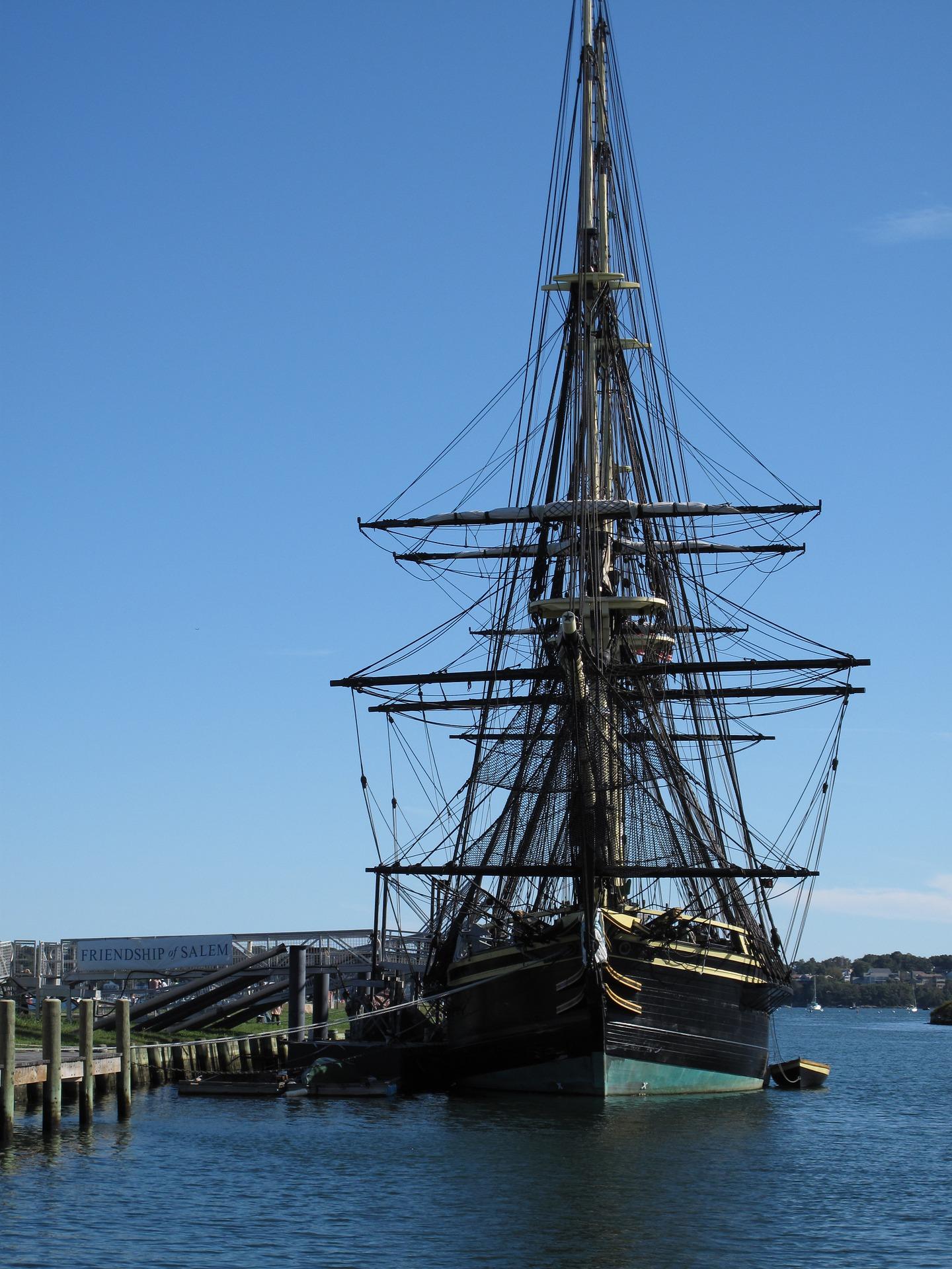 Ship in Salem, Massachusetts